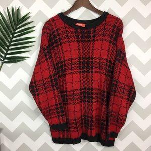 Vintage Liz Claiborne chunky knit sweater size M